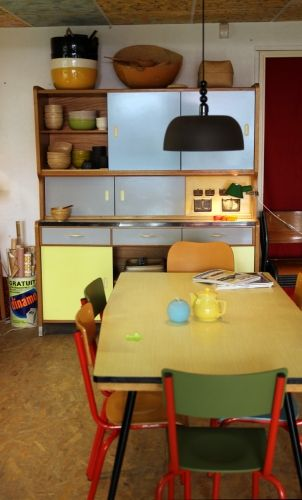 1000 images about i formica vintage on pinterest for Cuisine formica bleu