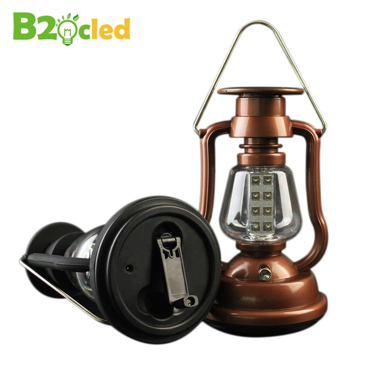 Outdoor camping lamp lantern LED camping lamp solar lamp rechargeable lamp for tent camp 16LED hand-operated power generation