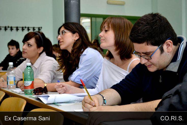 A lezione in Via Principe Amedeo 184 - Ex Caserma Sani
