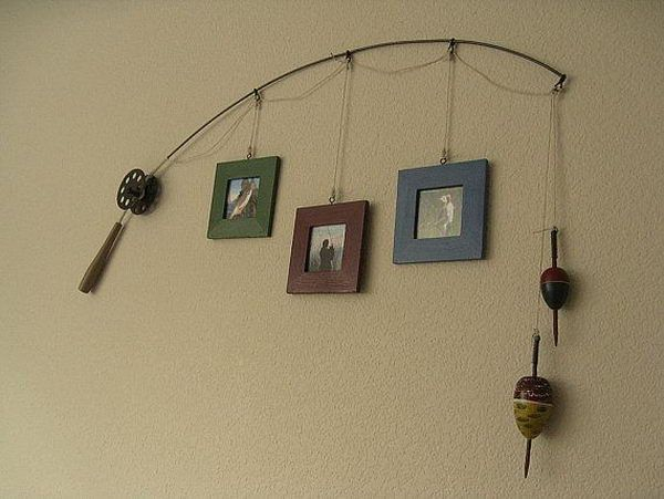 Awesome fishing themed photo frames!