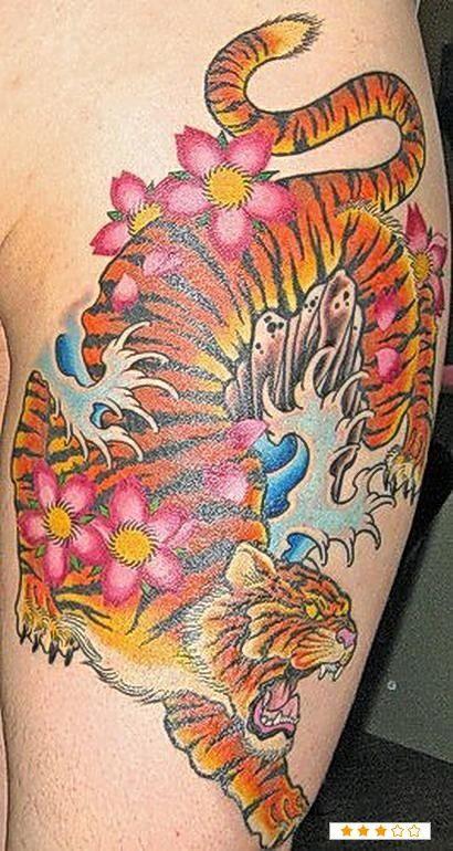 Tatuagens de Tigres (17)