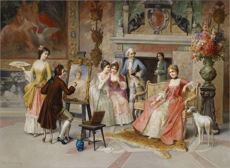 Franz_von_Persoglia_Portraitmaler-2 ADOLPHE ALEXANDRE LESREL