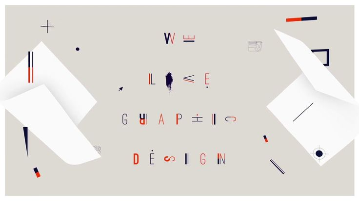 We Love Graphic Design Montage on Vimeo
