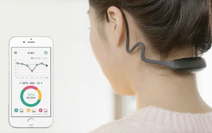 Korean startup NAMU launched a Kickstarter campaign Tuesday for ALEX, a wearable that tracks bad posture.