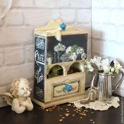"Ręcznie kuchnia.  Targi Masters - handmade ""Petit Bistro de Paris"" herbata bufetik.  Handmade."