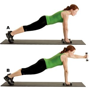 20-Minute Total-Body Toning Workout: Bicep Curls, Shoulder Press, Squats, and Planks | Women's Health Magazine