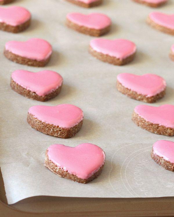 Valentine's Cinnamon Heart Cookies {Zimtsterne} Gluten-Free, Dairy-Free : Specialty Cake Creations
