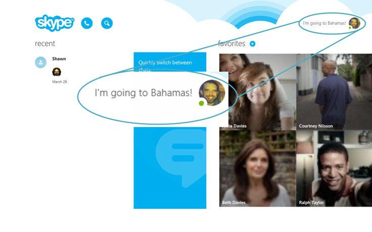 Tudok jelentkezzen ki a Skype (Skype a modern Windows)?