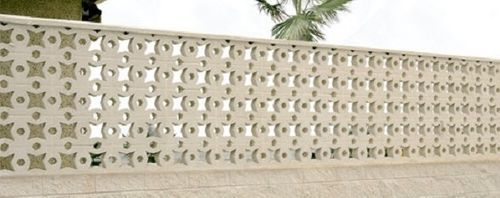 decorative stone imitation concrete block (for balustrades) ESTRELLA Verni-Prens