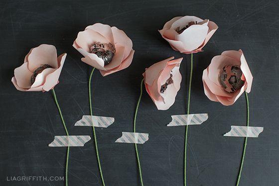 DIY Paper Flower: Anemone