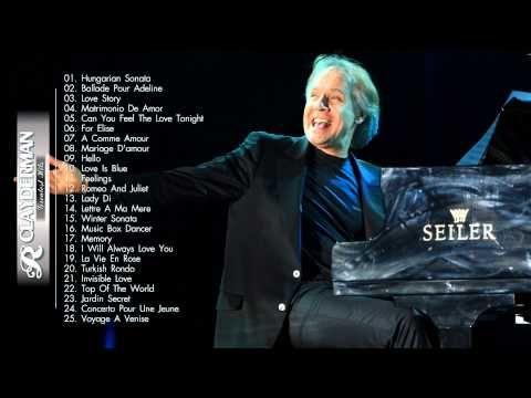 The Best Of Richard Clayderman | Richard Clayderman Playlist - YouTube
