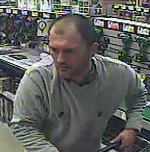 Man Wanted by Clinton Township Police for Retail Fraud