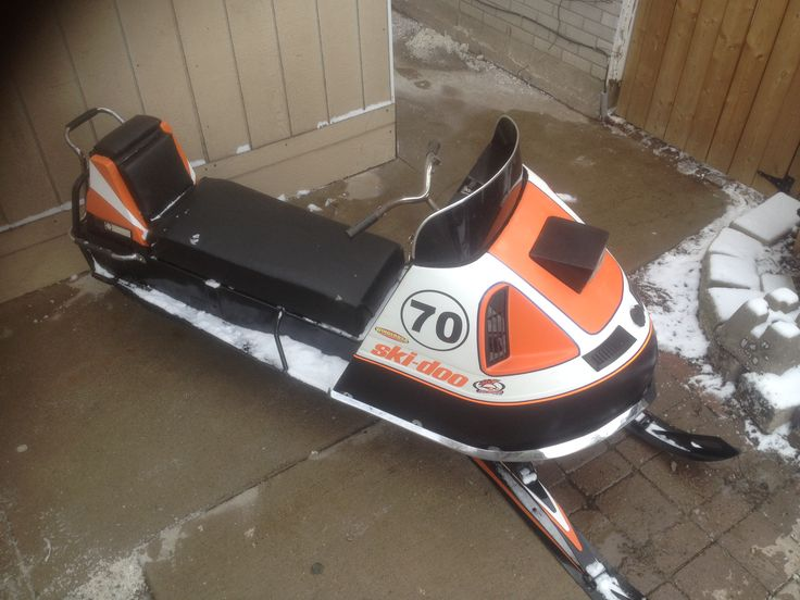 My 1970 restoration Ski- Doo Olympique