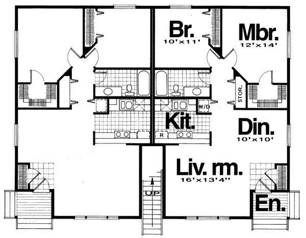167 best images about borderline properties on pinterest for 8 plex floor plans