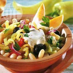 White bean salad with sesame dressing @ allrecipes.com.au