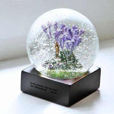 Four seasons хрустальный шар романтические подарки подарок на день рождения снежный шар купить на AliExpress