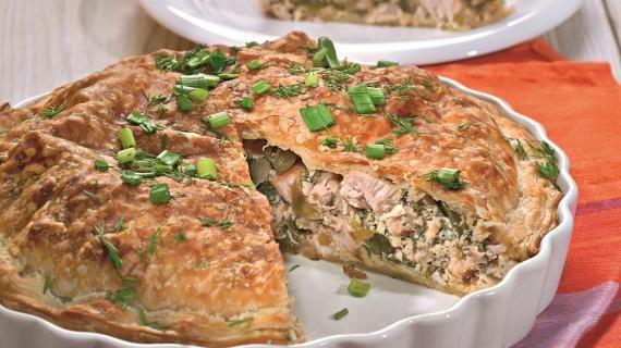 Пирог с индейкой. Пошаговый рецепт с фото на Gastronom.ru