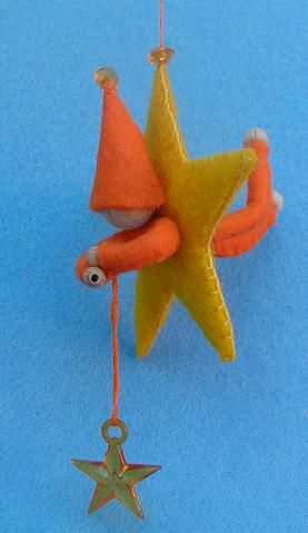Atelier Pippilotta : felt star catcher