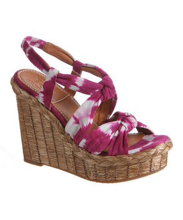 Take a look at this Lily Purple Bacoli Espadrille by Bacio61 on #zulily today!