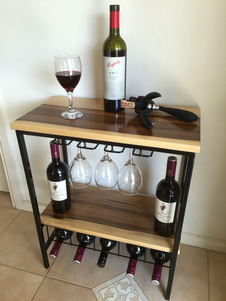 Black heart sassafras wine rack