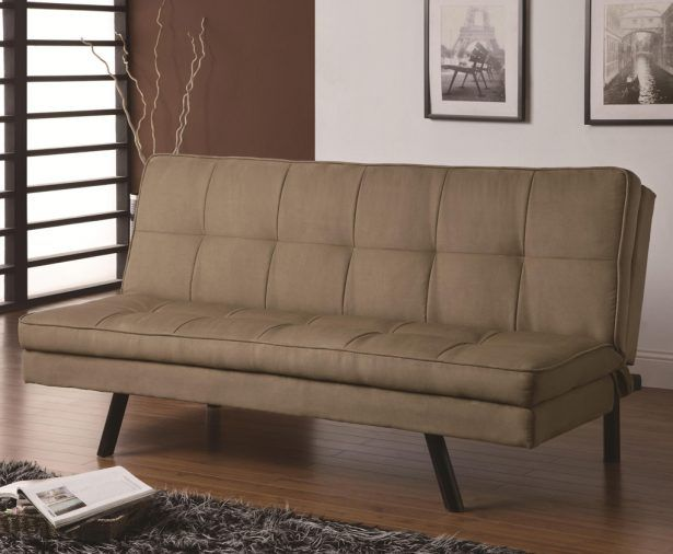 Sofas & Sectionals, Captivating brown microfiber cheap sleeper sofas sofa armless design black wooden sofa legs brown laminate wooden flooring white and brown wall paint dark wool carpet twin classic pictures: Exceptional Cheap Sleeper Sofas