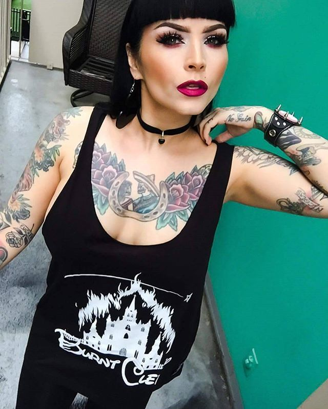 """@sarabellemarcoux wearing our """"Burnt Clergy"""" Vest - available at www.crmc-clothing.co.uk  Only £7 in our pre-drop SALE 