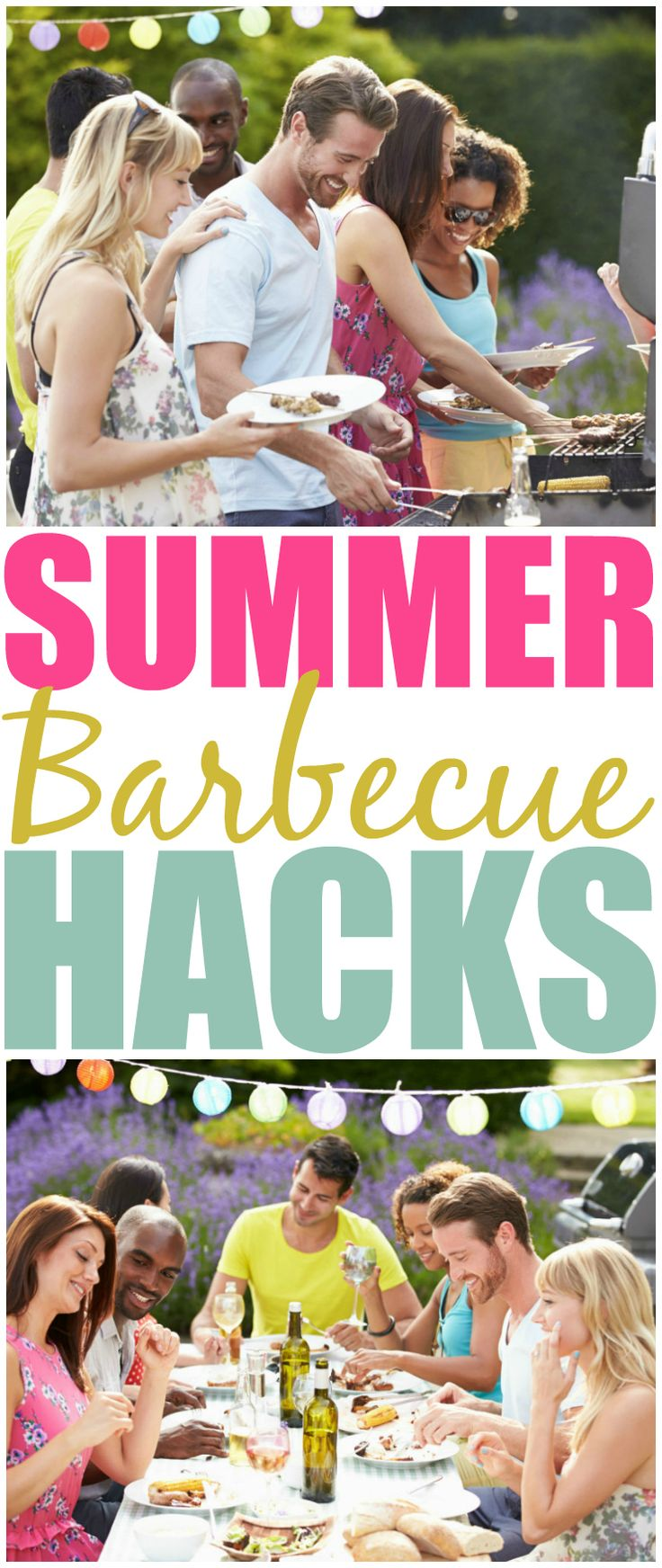 Before you plan your next big backyard cookout check out these awesome BBQ hacks that will transform your party & have it run smoothly from start to finish.