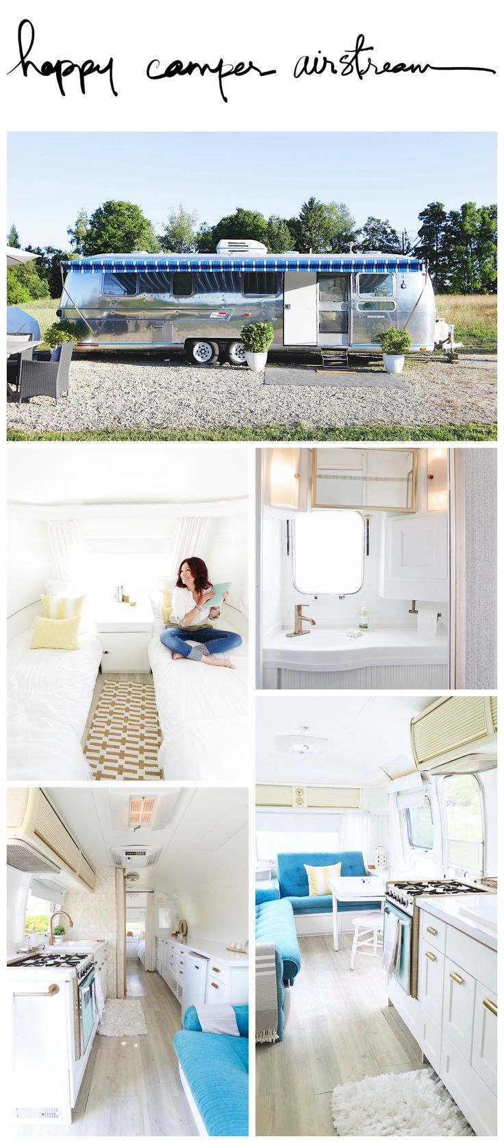 VIDEO: Before & after airstream renovation - Design The Life You Want To Live