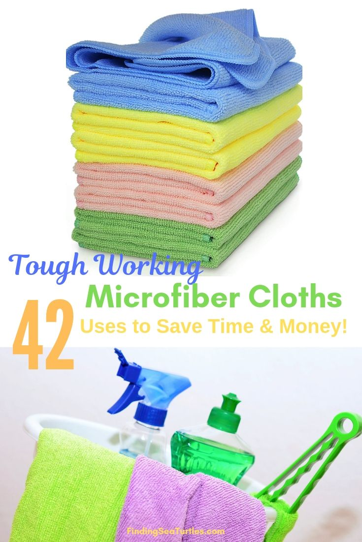 42 Brilliant Cleaning Microfiber Cloth Uses Finding Sea Turtles Microfiber Cloth Microfiber Microfiber Cleaning Cloths