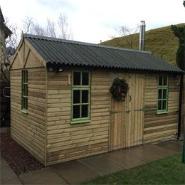 this is one from our peebles range of sheds and workshops