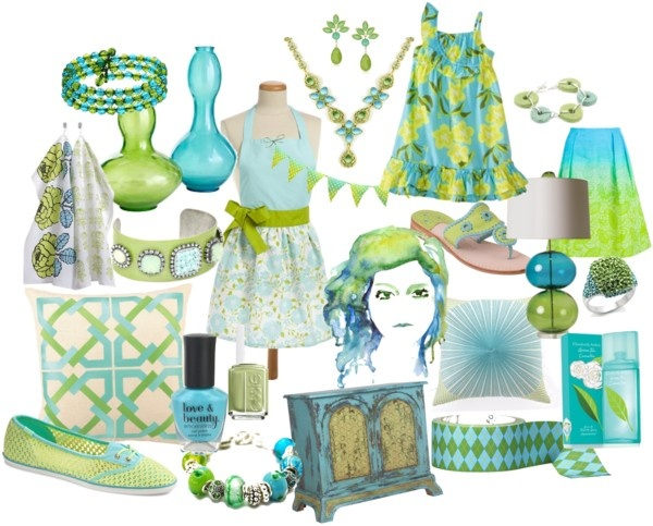 17 best images about aqua lime green color inspiration - Turquoise and lime green decor ...
