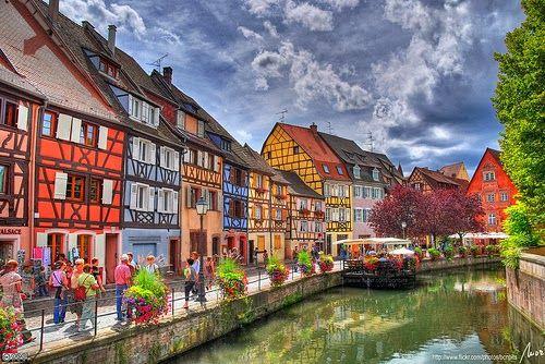 Colmar - um conto de fadas na Alsácia - França