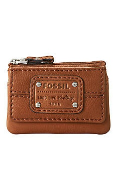 Fossil® Mercer Zip Coin Purse    I hope they forever make this wallet.: Fossil
