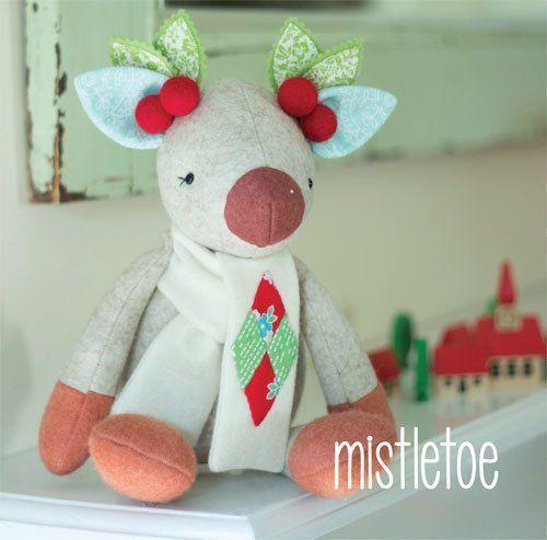 """Mistletoe"" designed by Simone Gooding for May Blossom."