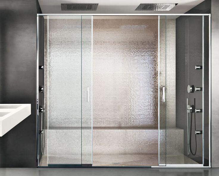 Die besten 25 sliding shower screens ideen auf pinterest for Luxus shower doors