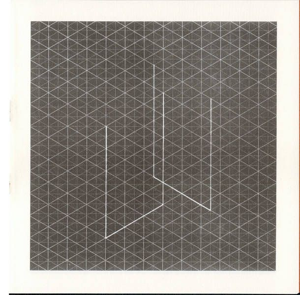 Artists' Books and Multiples: Fred Sandback | Ten Isometric ...