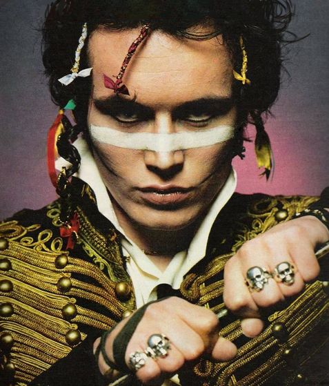 Adam Ant.  Goody two shoes