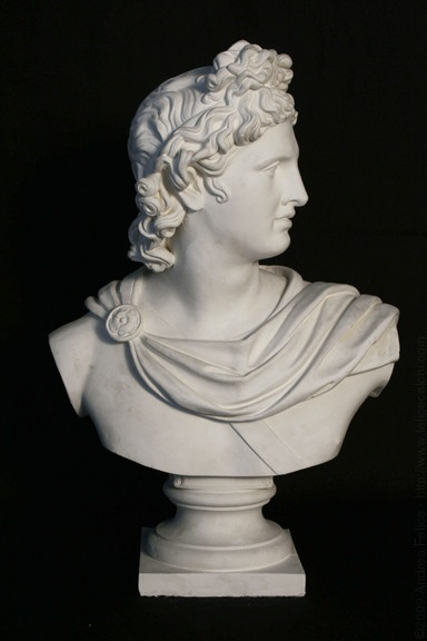Bust of Apollo of Belvedere (reduction)