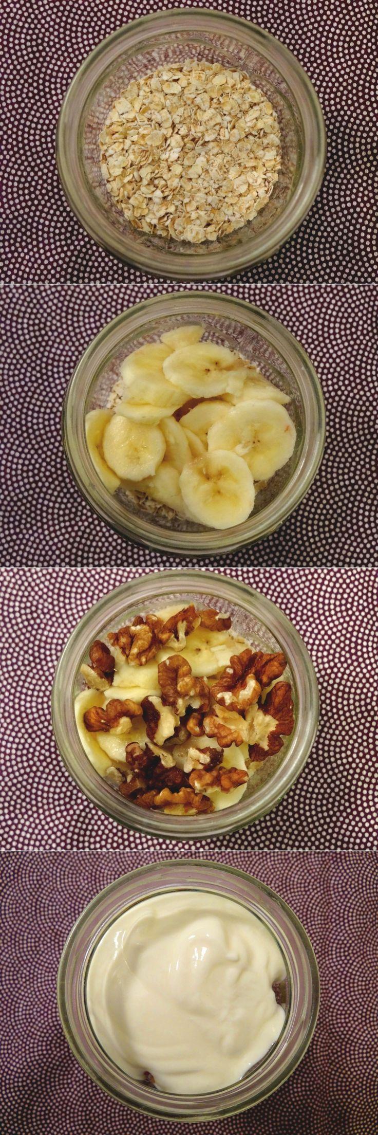 Overnight Oatmeal - Porridge du lendemain - Fleanette's Kitchen