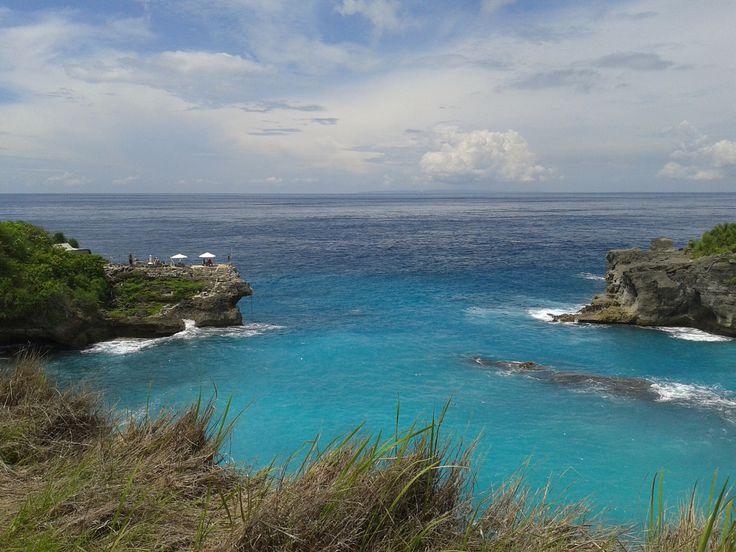 Blue lagoon #lembonganisland