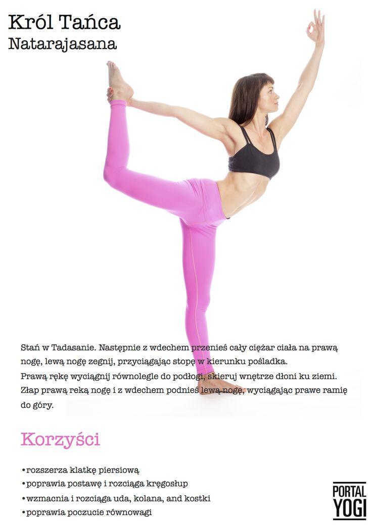 Jak poprawnie wykonać Pozycję Króla Tańca? #joga #w #domu #dla #początkujących #portalyogi #asany