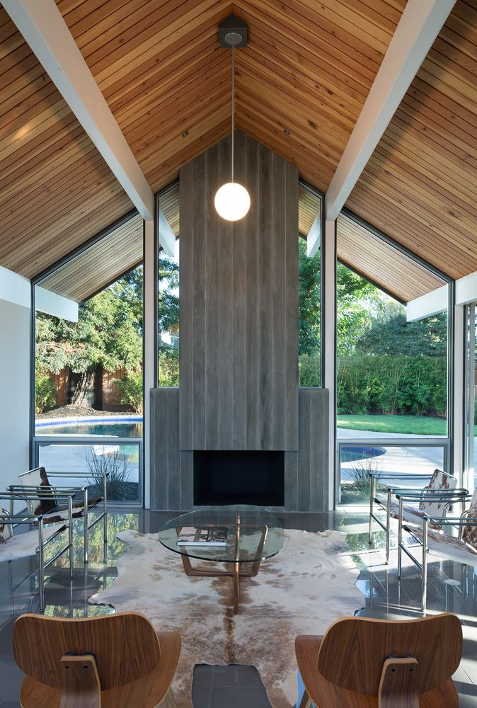 When homeowners Jonathan Halderman and Jackie Brooks wanted to renovate their dilapidated 1960s Quincy Jones-designed Eichler ranch, they called Curt Cline at Modern House Architects. In order to get the house they wanted, Cline would have to rebuild the home up from the slab work. The A-frame house was badly in need of repair, but Cline honored … Continue reading Renovating a California Eichler: Part 1 →
