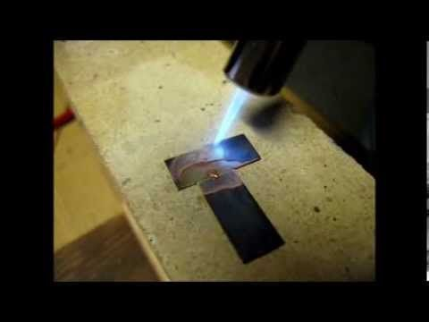 #3 Saldare Rame e Ottone (tutorial) - YouTube