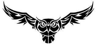 owl tribal tattoo - Google-Suche
