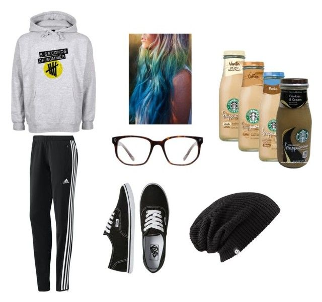 """Black friday shopping"" by hannahhood99 ❤ liked on Polyvore featuring adidas, Vans and Derek Cardigan"