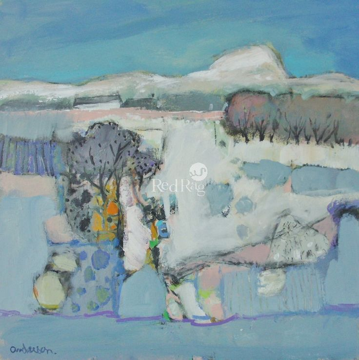 Charles ANDERSON DA RSW - Early Snow