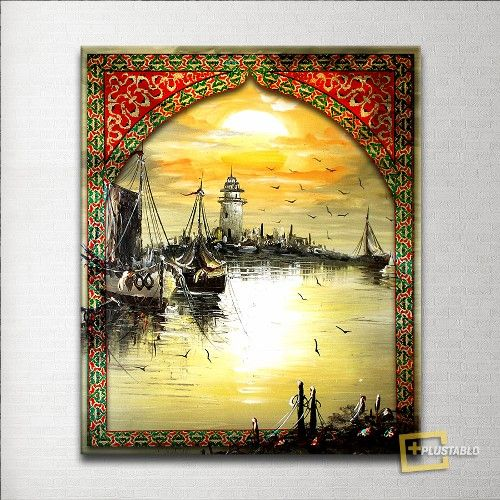 Eski İstanbul Osmanlı Motifli Özel Tasarım Kanvas Tablo 29,00 TL ve ücretsiz kargo ile n11.com'da! Plustablo Kanvas Tablo fiyatı Dekorasyon