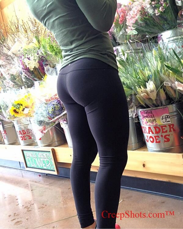 Ass and leggings