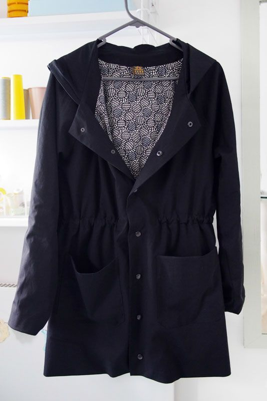Waver jacket, sewing pattern by Papercut Patterns