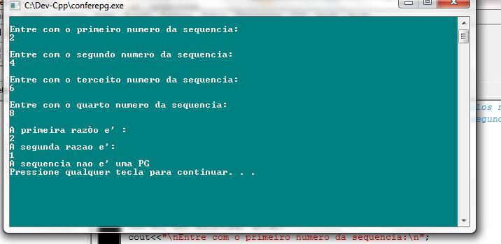 EXCEL FACIL IDEAS AND SOLUTIONS: C++, PG, Progressão geométrica, sequência, razão